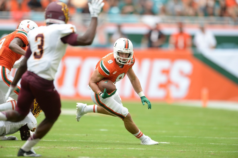 cheaper 8df24 014c3 Braxton Berrios earns his place in Miami's history after ...